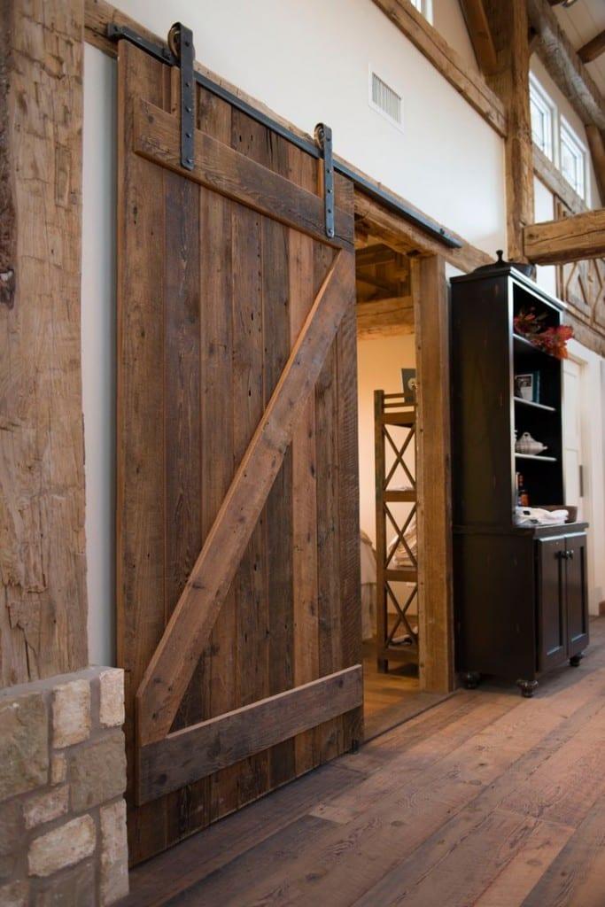 Schiebet r projekte bei denen wir uns und sie stolz for Hanging barn door in house