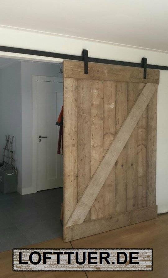 schiebet rbeschlag f r holzt ren. Black Bedroom Furniture Sets. Home Design Ideas