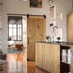 Zelf een schuifdeur maken - Klassiek schuifdeursysteem zwart - Bovenop