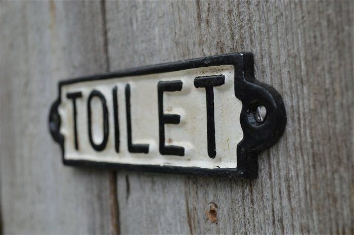 Toilette Zeichen 2