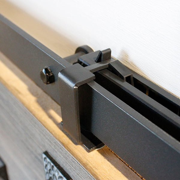 softclose systeem voor schuifdeur met klassiek railsysteem